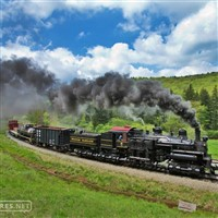 Mountains And Trains of West Virginia - 2019