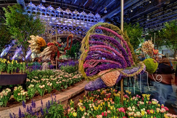 Image result for Philadelphia Flower Show 2019