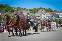 Lilac Festival At Mackinac Island 2019