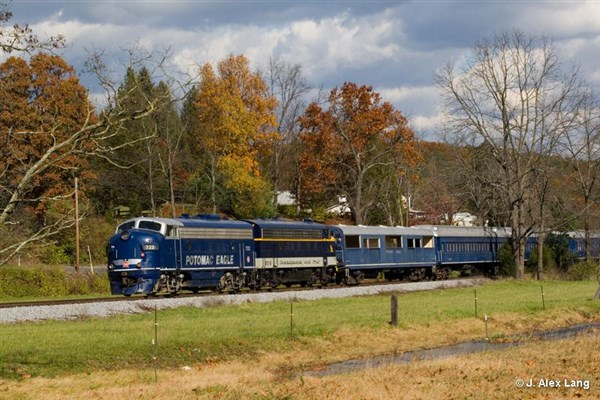 Potomac Eagle Train Ride- First Class Ticket 2018