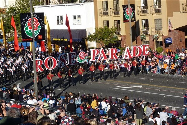 Tournament of Roses Parade, CA - 2020