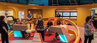 Star Trek At The Intrepid Sea Air & Space Museum